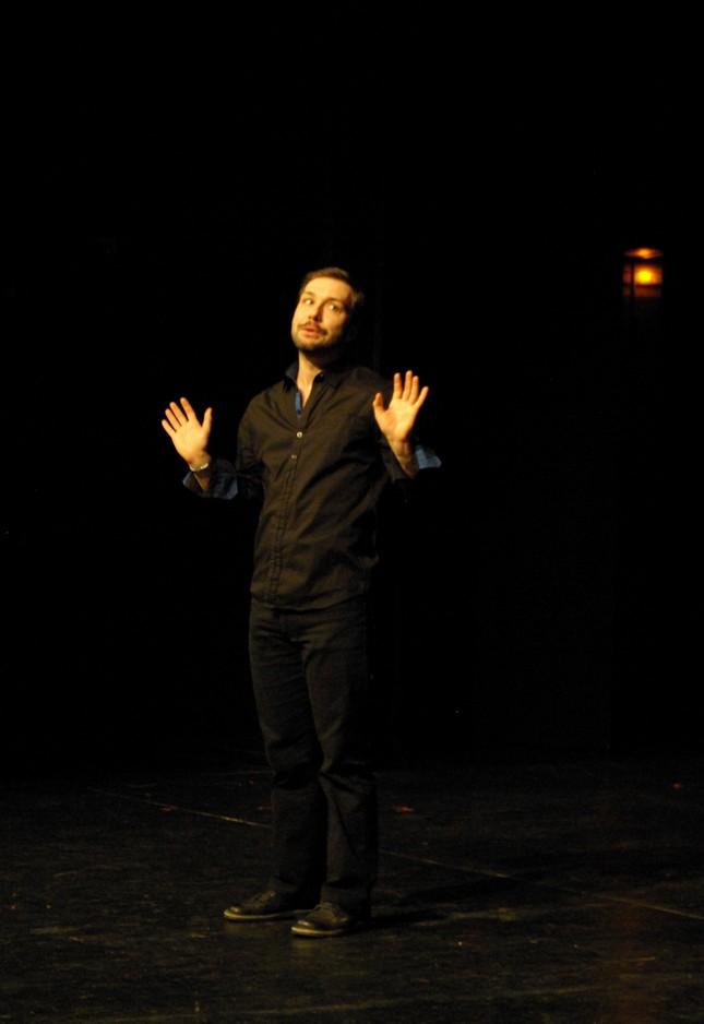 Je hais le monologue. De Jean-Paul Alègre. Gilles Tissandier. Artissimo