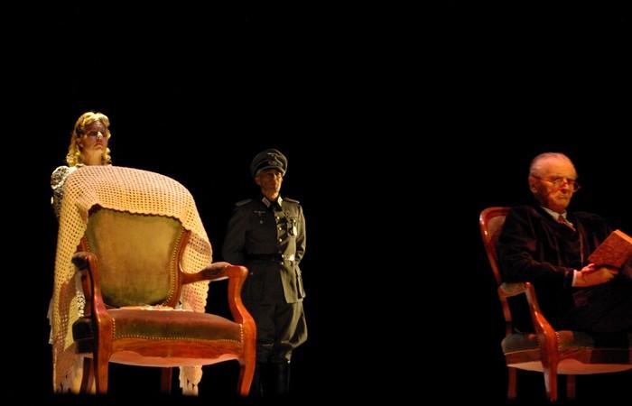 Le silence de la mer. De Vercors. Compagnie Théâtre 343 Lyon