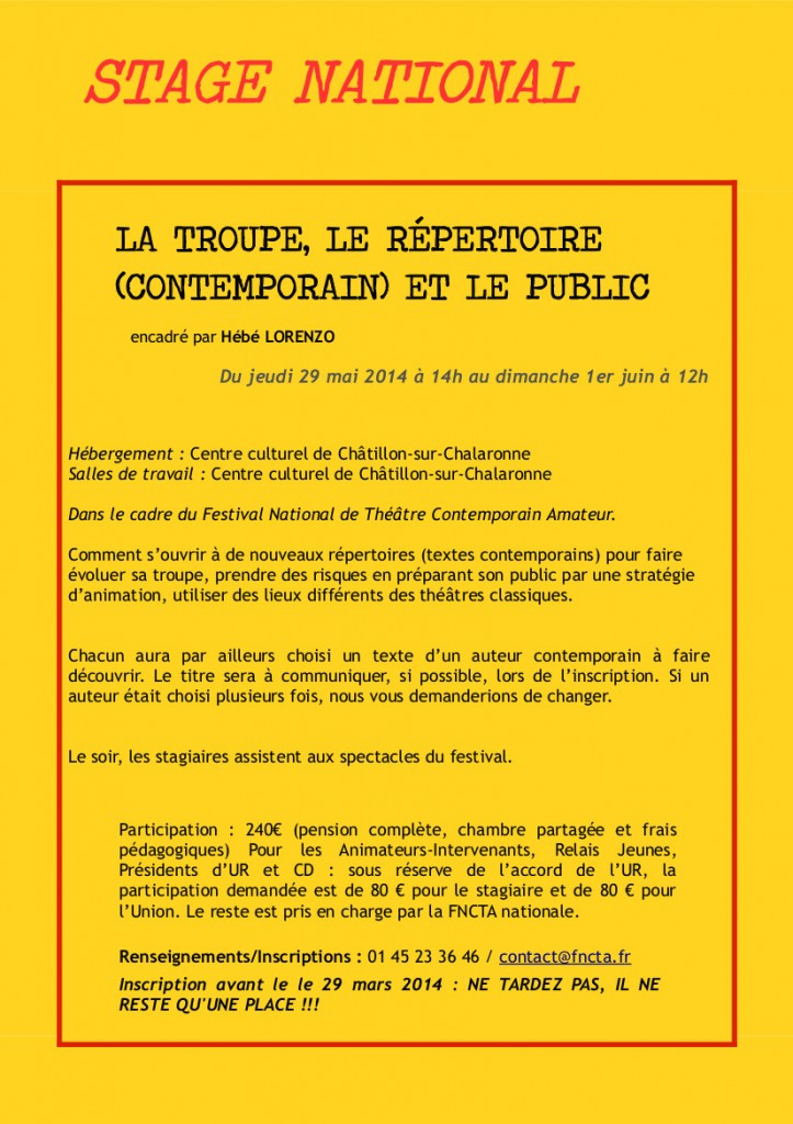 LETTRE FORMATION 04 SPECIALE CHATILLON 4