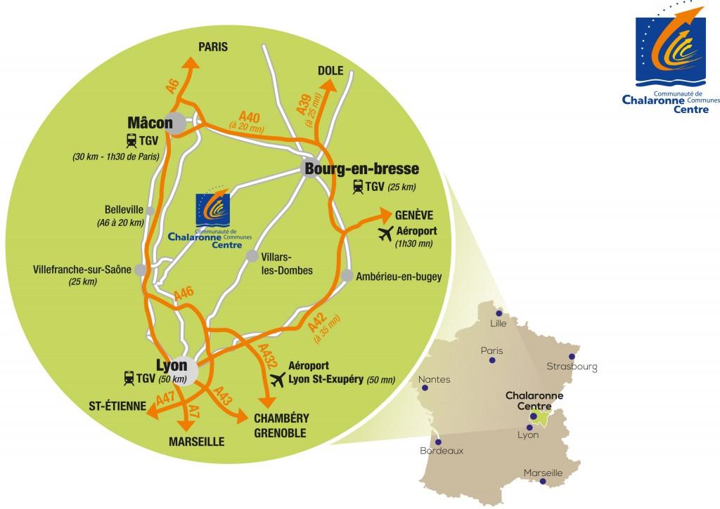 Plan CC Chalaronne Centre