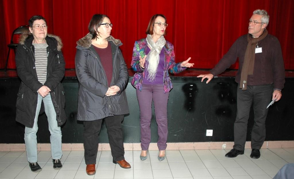 Equipe du Comité du Rhône de la Fncta