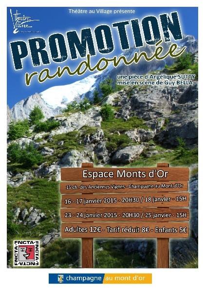 Promotion Randonnée 2015