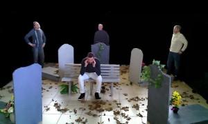 Brèves de cimetière-Les pièces montées-2015