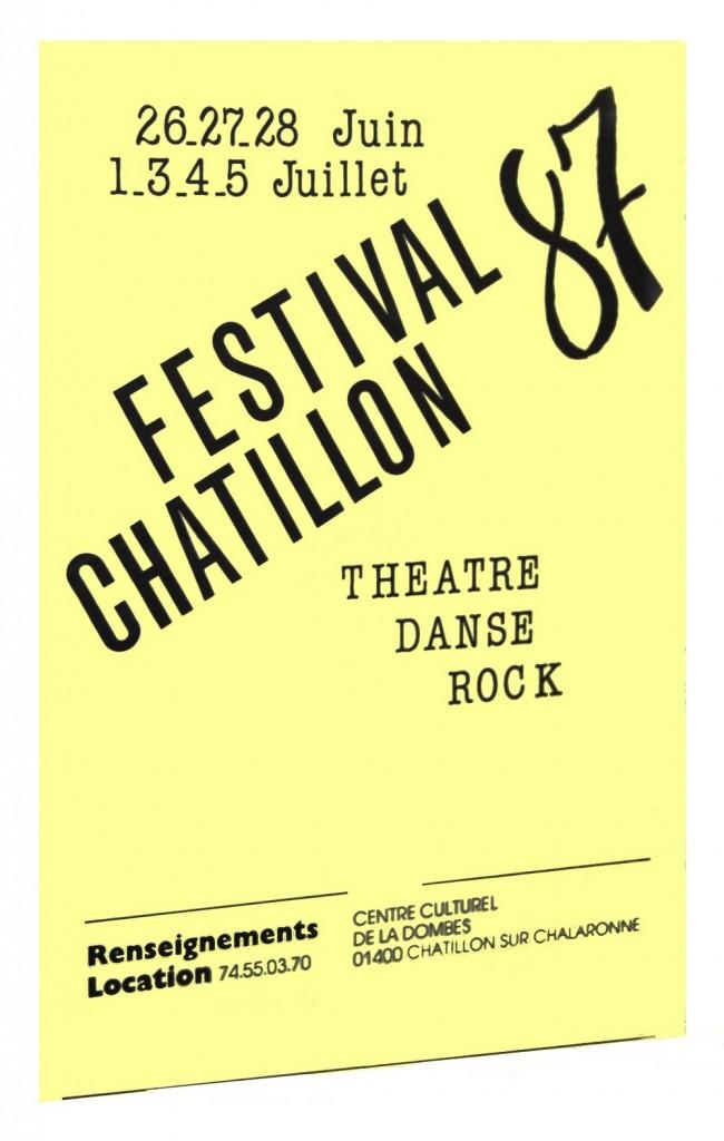 Année de lancement du festival. Année Rock !