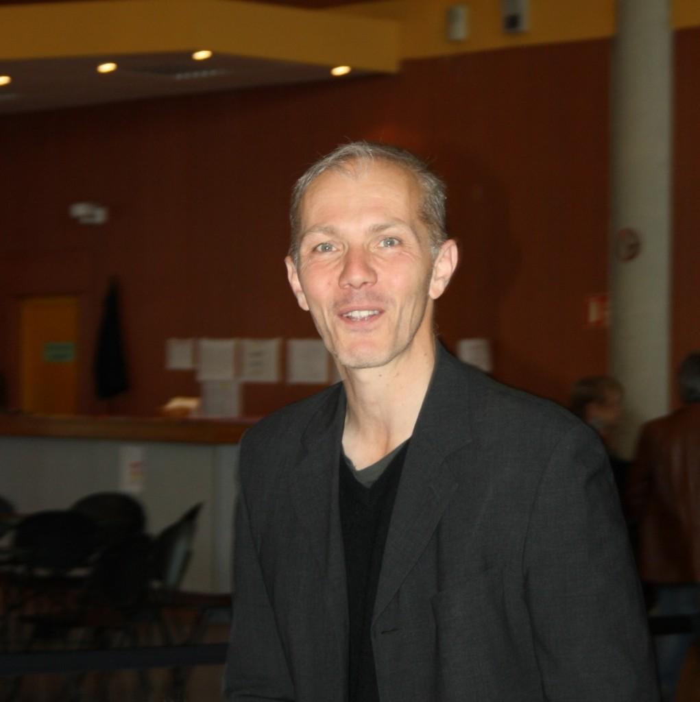 Pierre Notte, auteur et animateur d'un atelier