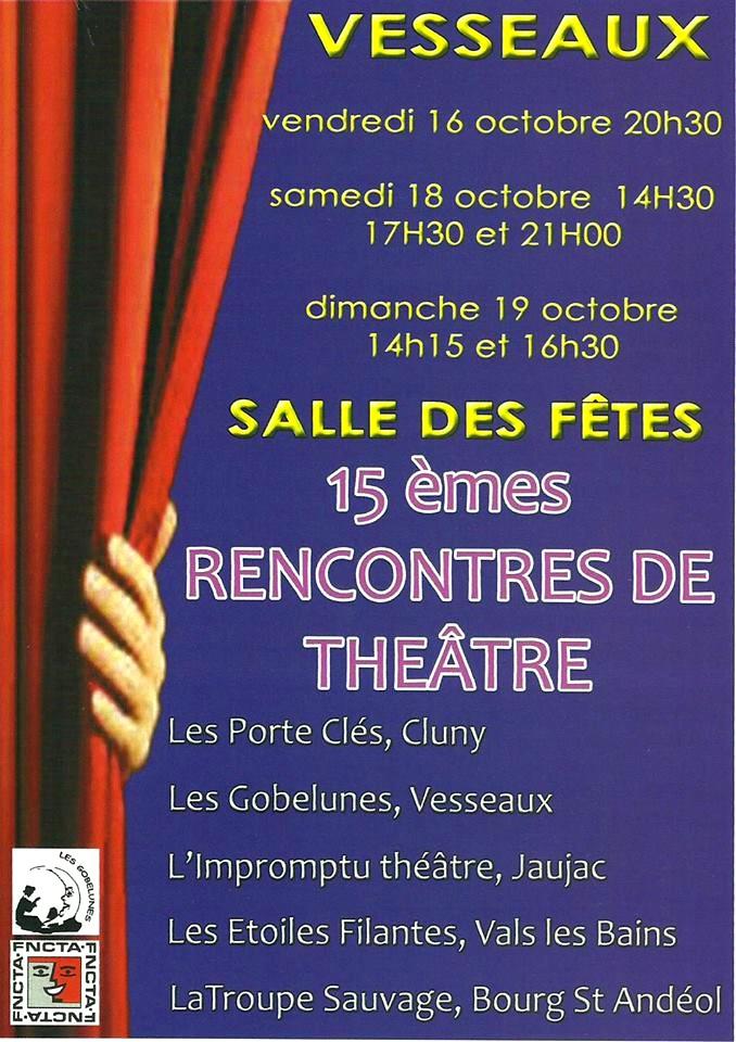 Vesseaux Recontres de théâtre 2015-
