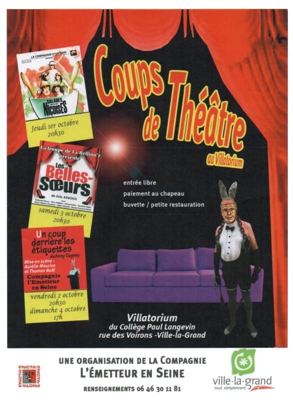 Coups de théâtre - L'émetteur en scène 2015