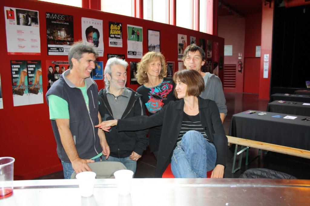 L'équipe de Didascalies Théâtre Annecy