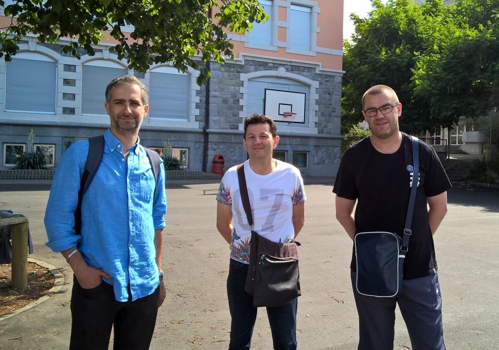 Gilles El Zaïm, Luciano De Francesco, Alexandre Zanotti au Festival de la Tour de Peilz (Suisse), Juillet 2015