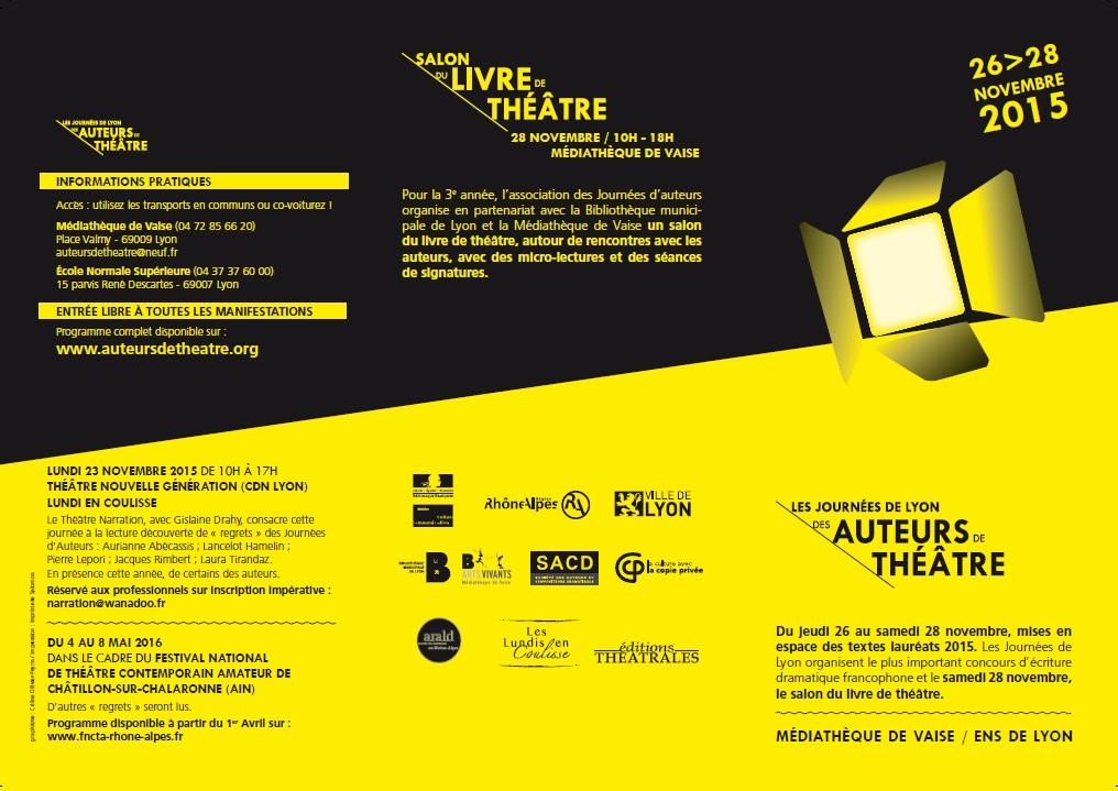 Journées de Lyon des auteurs PremierrePage-Nov2015