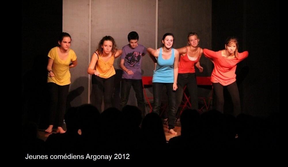 Jeunes comédiens-Argonay 2012