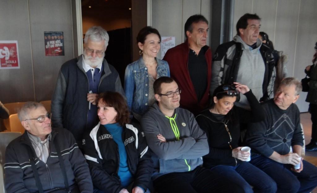Membres sortants du comité départemental des Savoie de la Fncta
