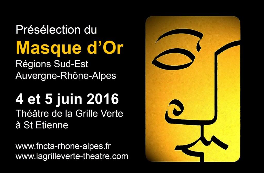 Présélection Masque d'Or 2016-A