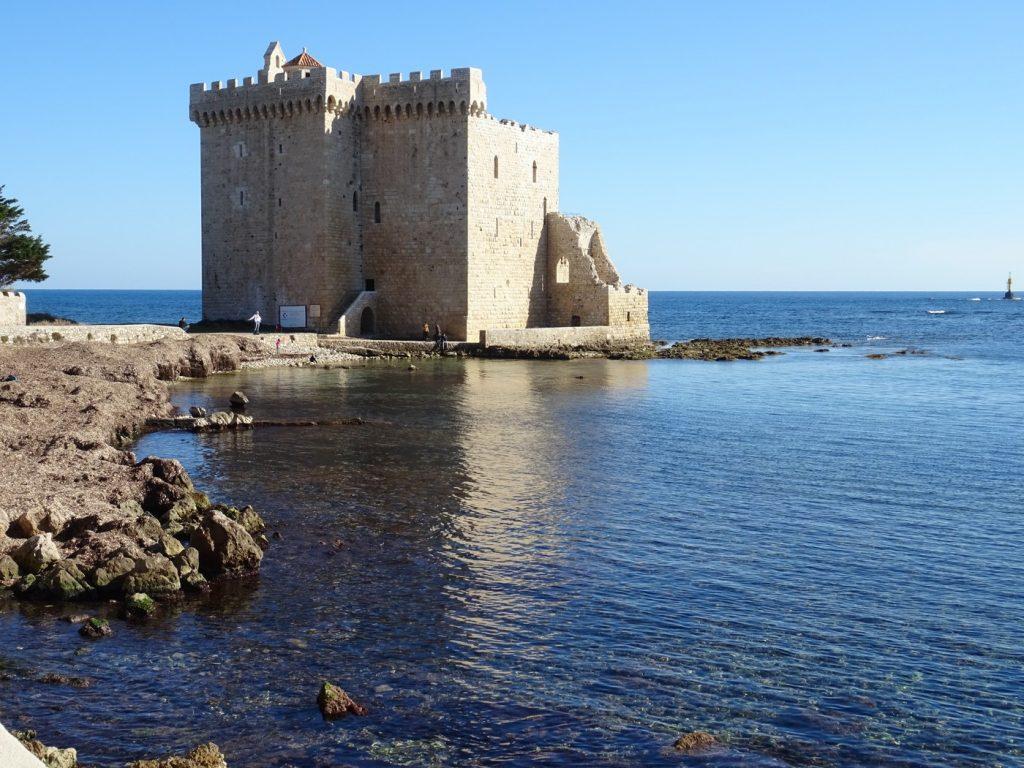 îles de Lérins. Abbaye fortifiée. Région Paca.