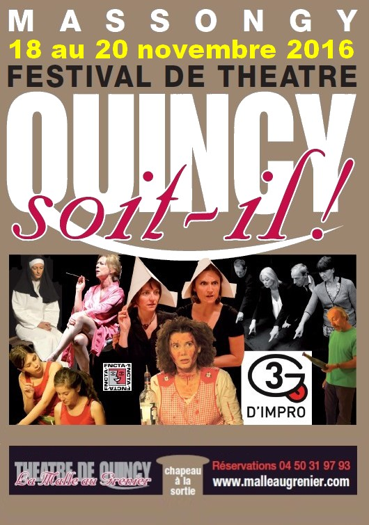 Quincy soit-il Affiche provisoire 2016