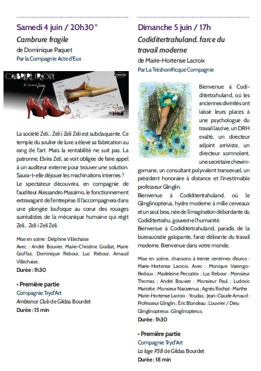 Rencontres théâtrales romanaises-2016--Programme p2