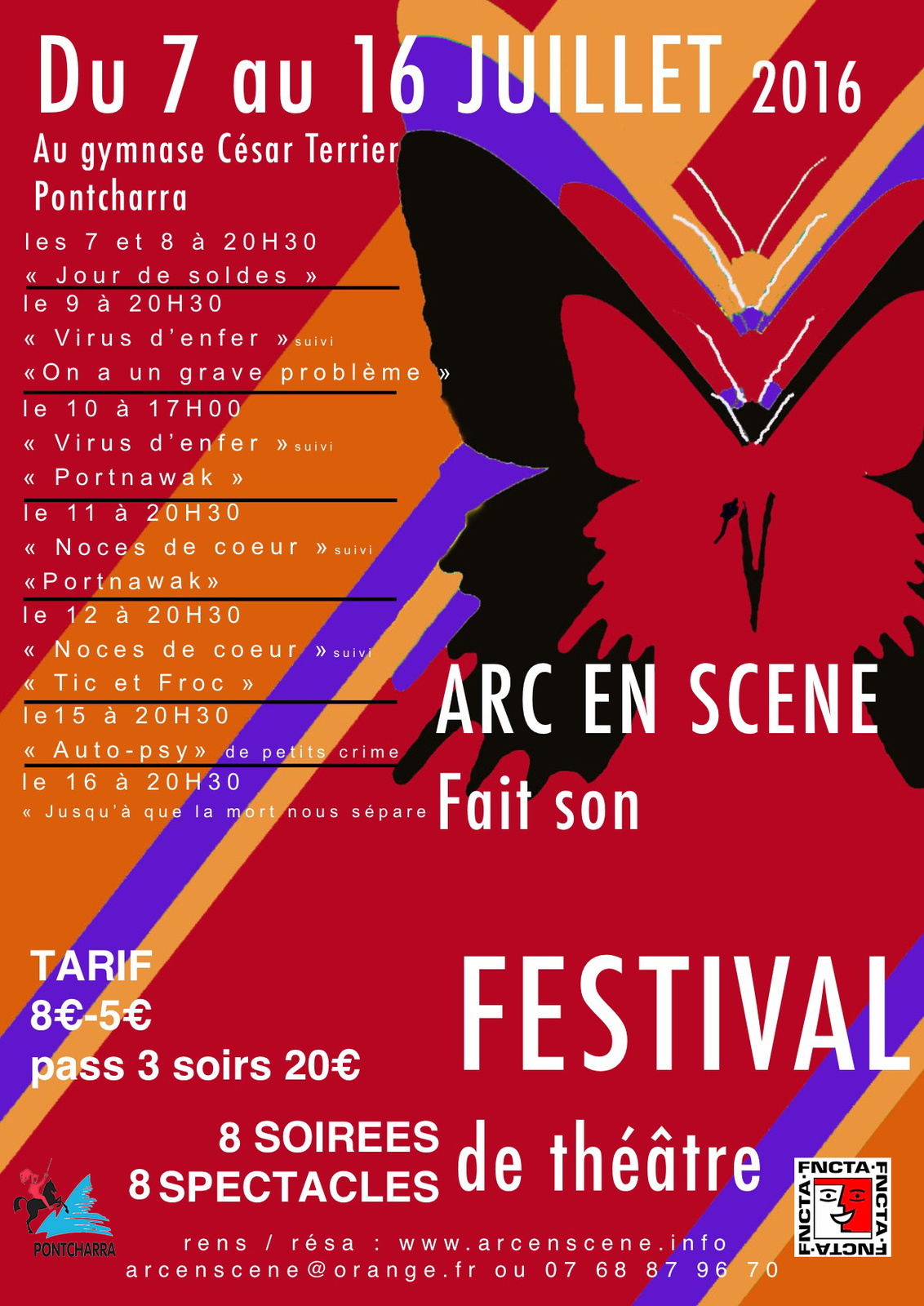archive arc en sc ne fait son festival du 7 au 16 juillet 2016 pontcharra is re fncta. Black Bedroom Furniture Sets. Home Design Ideas