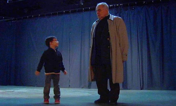 Jean Saby et son arrière petit-fils