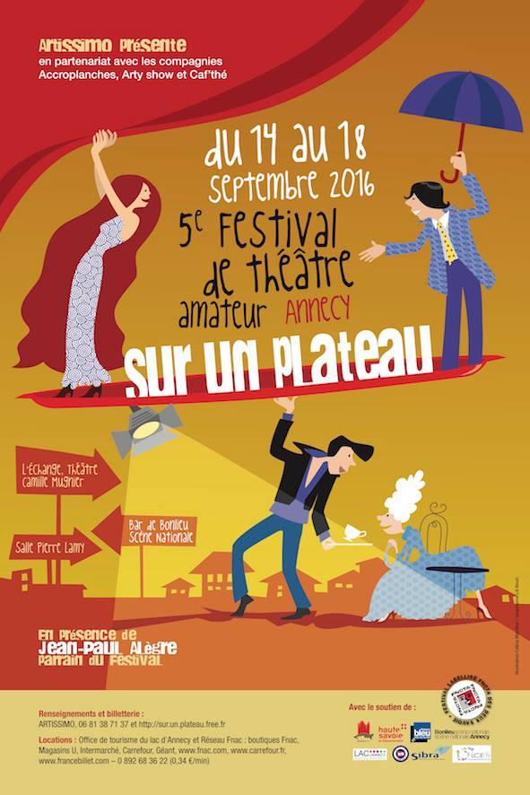 Sur un plateau Festival Annecy 2016