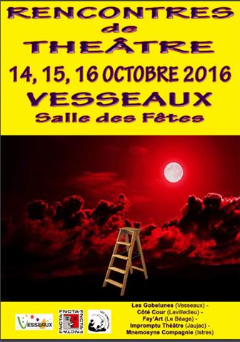 Affiche - Rencontres Vesseaux 2016