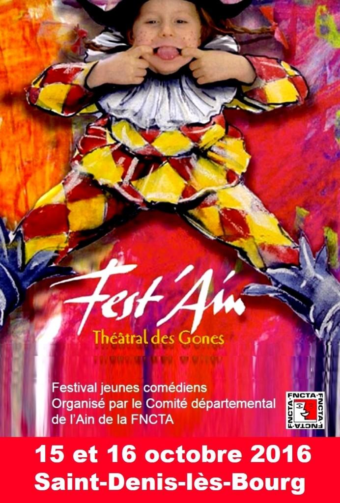 Fest'Ain des Gones 2016 affiche