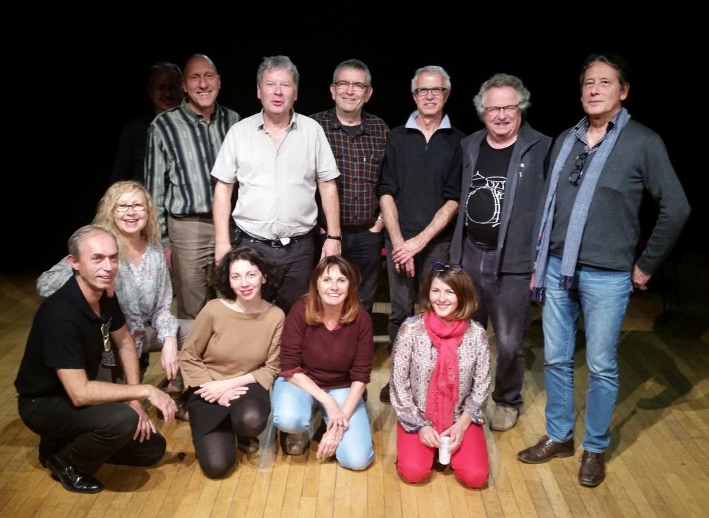 Stage Direction d'Acteurs, décembre 2015, avec Karine Dufaut