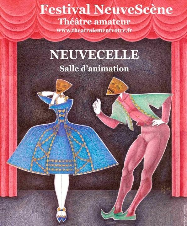 NeuveScène Festival Affiche-1