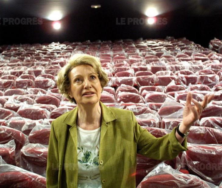 Jacqueline Boeuf - Photo Le Progrès Philippe Juste