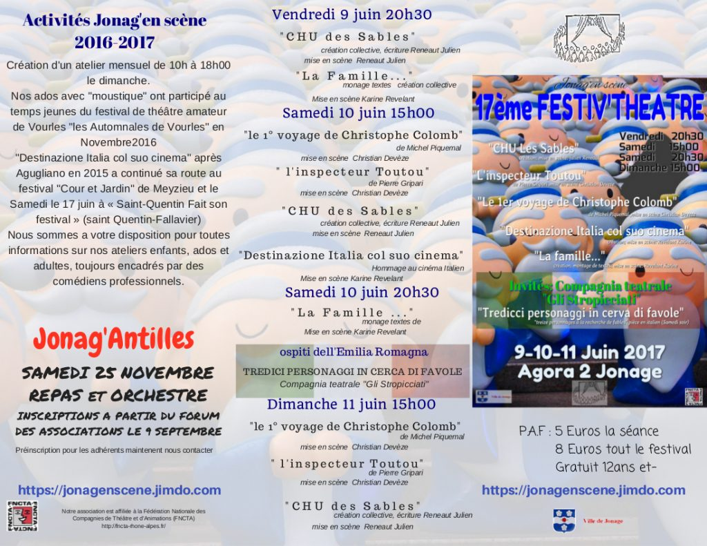 programme festiv-theatre 2017