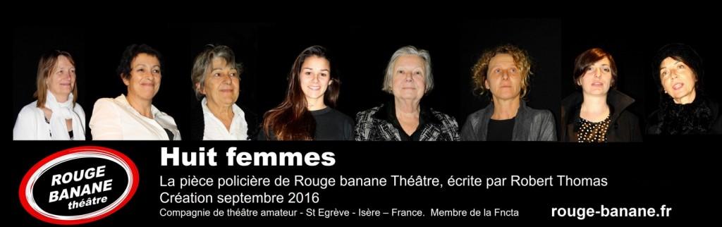 Rouge banane Théâtre-Huit femmes-Pub-x1500