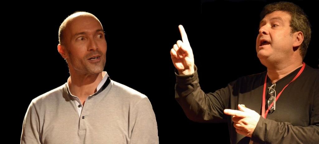Brahim Amkhaw, Dir Oscar et Michel Pierre Responsable Festival