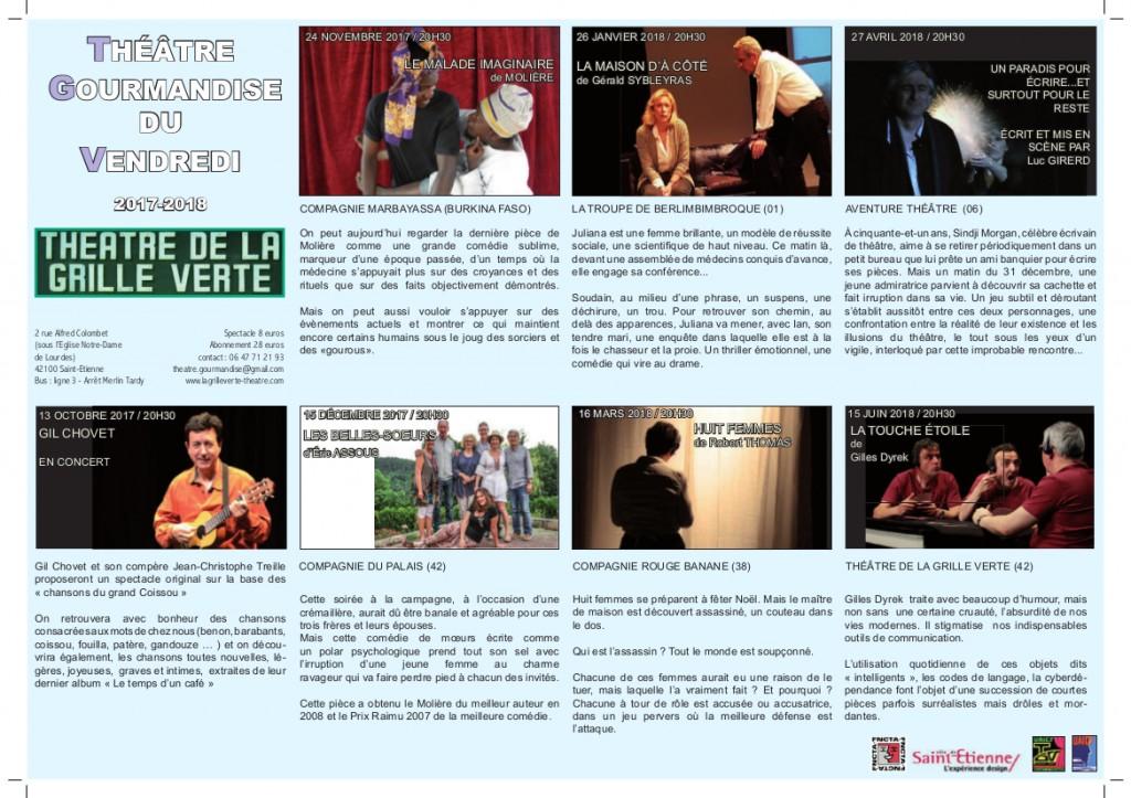 TVG programme 17-18 flyer